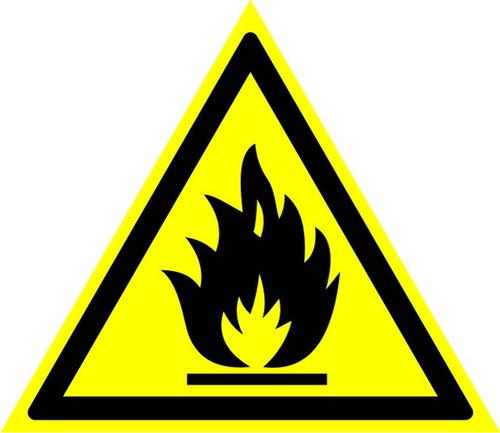 W01 Пожароопасно! Легковоспламеняющиеся вещества