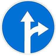 Дорожный знак 4.1.4