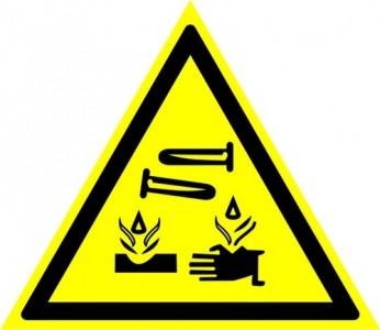W04 Опасно! Едкие и коррозионные вещества