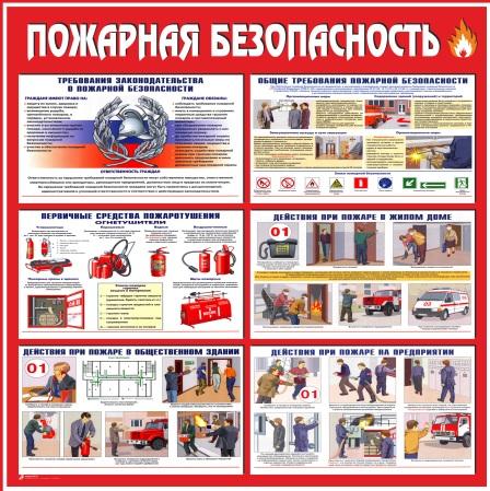 Стенд пожарная безопасность 2