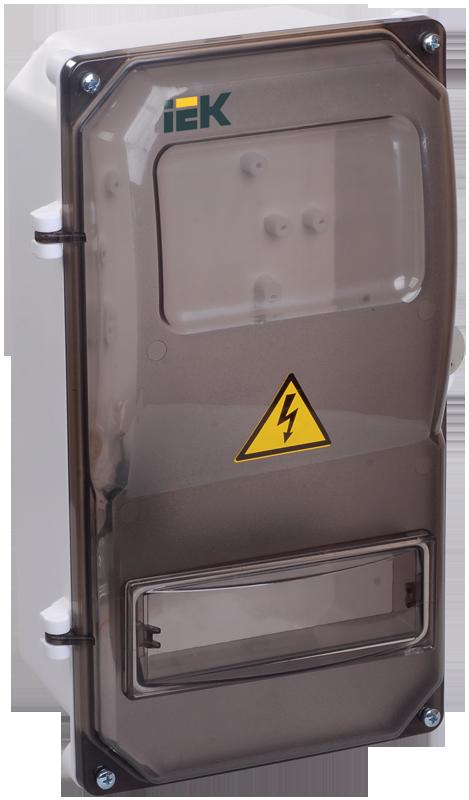 Щит учетно-распределительный навесной ЩУРн-П 3/8 пластиковый IP55 IEK