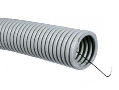 Труба гофрированная с протяжкой (размеры и производители)