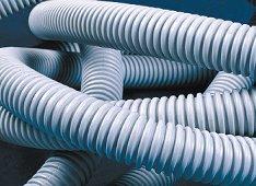 Труба гофрированная ПВХ (размеры, производители)