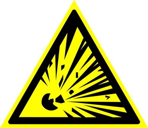 W02 Взрывоопасно