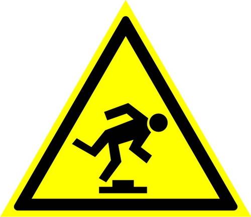 W14 Осторожно! Малозаметное препятствие