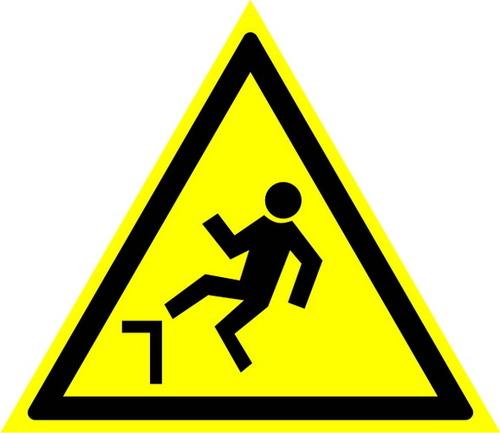 W15 Осторожно! Возможность падения с высоты
