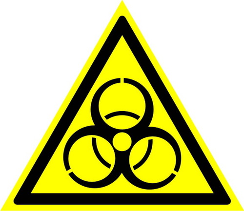 W16 Осторожно! Биологическая опасность