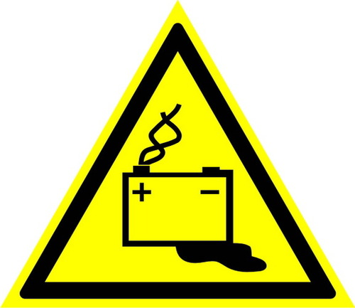 W20 Осторожно! Аккумуляторные батареи