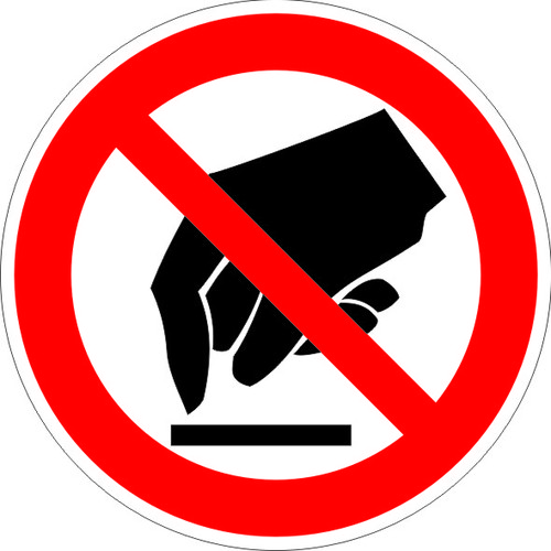 P08 Запрещается прикасаться. Опасно