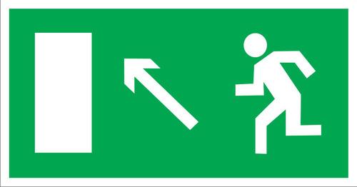 E06 Направление к эвакуационному выходу