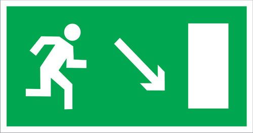 E07 Направление к эвакуационному выходу