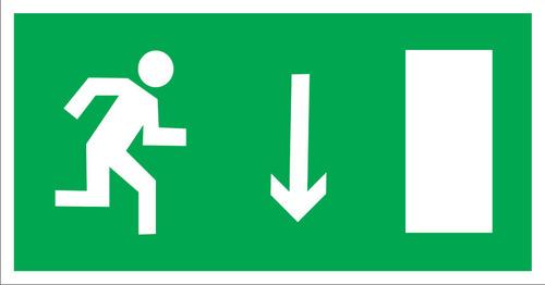 E09 Направление к эвакуационному выходу