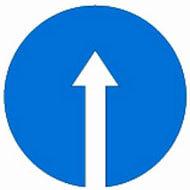 Дорожный знак 4.1.1